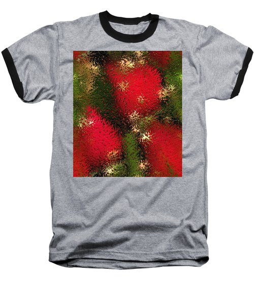 Strawberries Behind  The Glass Baseball T-Shirt