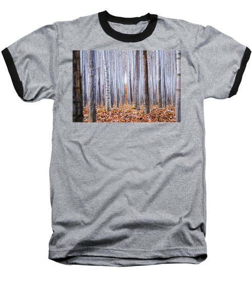 Through The Layers Baseball T-Shirt