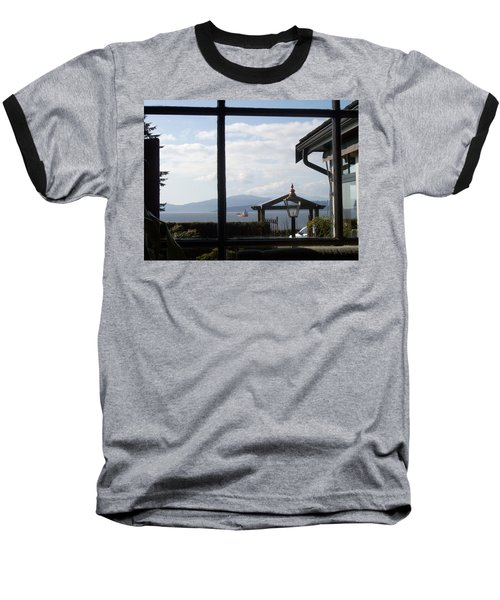 Baseball T-Shirt featuring the photograph Through The Looking Glass by Mary Mikawoz