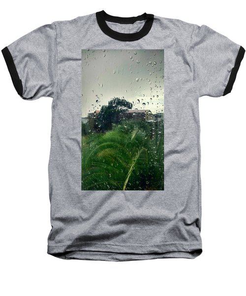 Baseball T-Shirt featuring the photograph Through The Looking Glass by Persephone Artworks