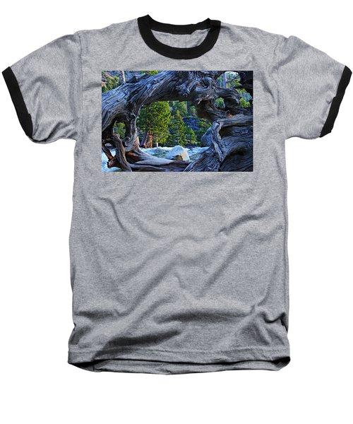 Through The Looking Glass Baseball T-Shirt