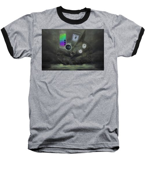 Through The Mists Of Time Baseball T-Shirt