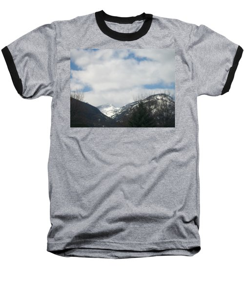 Through The Pass Baseball T-Shirt by Jewel Hengen