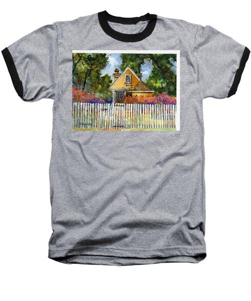 Through The Pickets Baseball T-Shirt