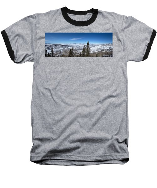 Through The Pines Baseball T-Shirt