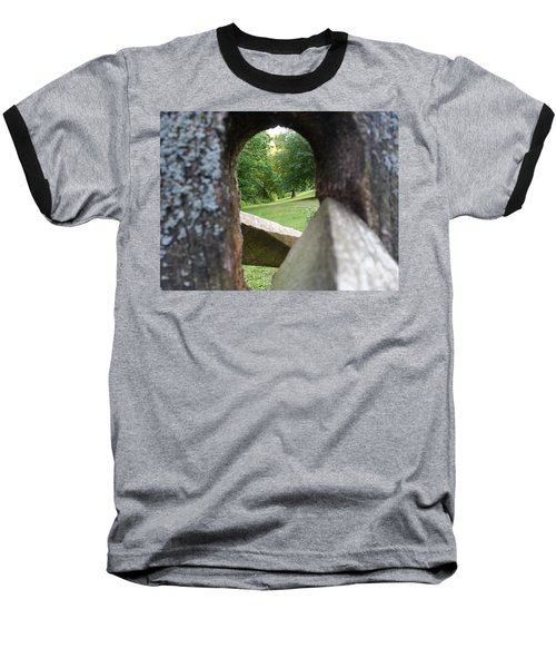 Baseball T-Shirt featuring the photograph Through The Post by Robert Knight
