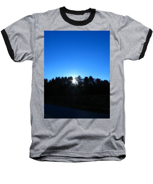 Through The Trees Brightly Baseball T-Shirt