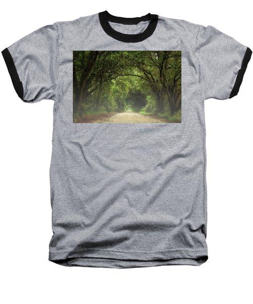 Through The Trees Baseball T-Shirt