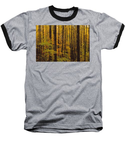 Through The Yellow Veil Baseball T-Shirt