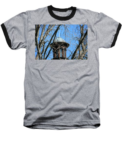 Baseball T-Shirt featuring the photograph Thru The Trees by Cathy Harper