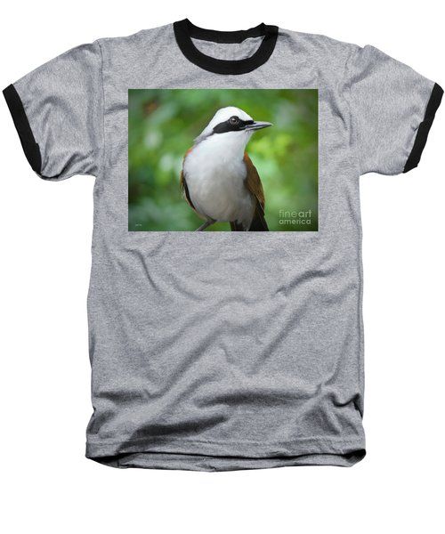 Thrush Pose Baseball T-Shirt