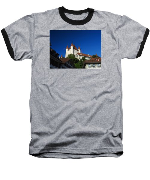 Thun Castle Baseball T-Shirt by Ernst Dittmar