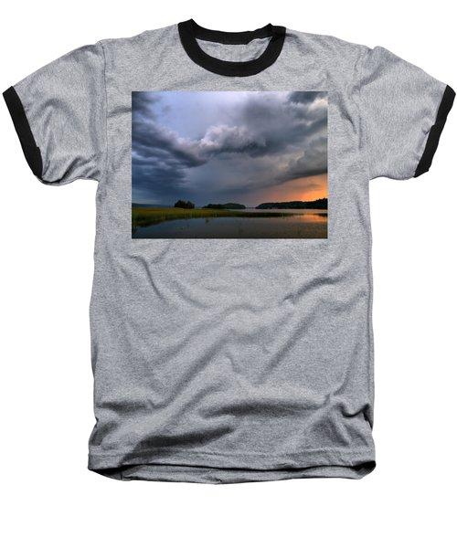 Baseball T-Shirt featuring the photograph Thunder At Siuro by Jouko Lehto