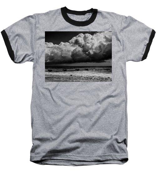 Thunder Head By The Sea Baseball T-Shirt