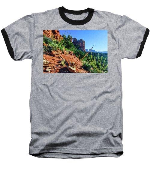 Thunder Mountain 07-006 Baseball T-Shirt by Scott McAllister