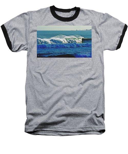 Thunder Of The Waves Baseball T-Shirt