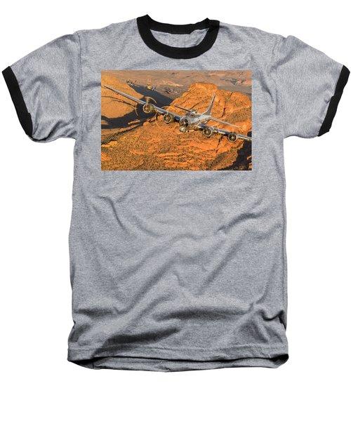 Thunder On The Mountain Baseball T-Shirt