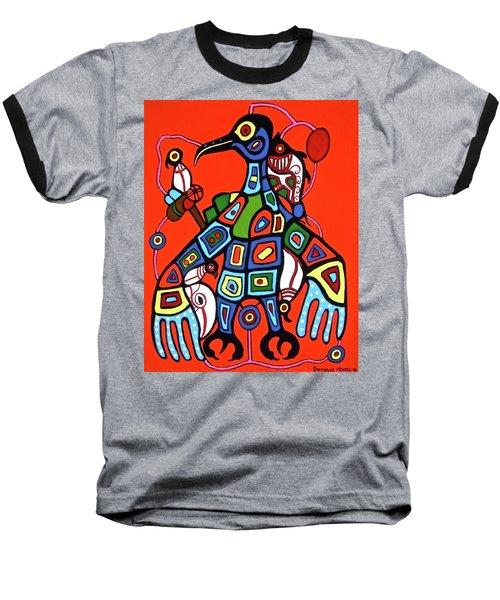 Thunderbird Baseball T-Shirt by Stephanie Moore