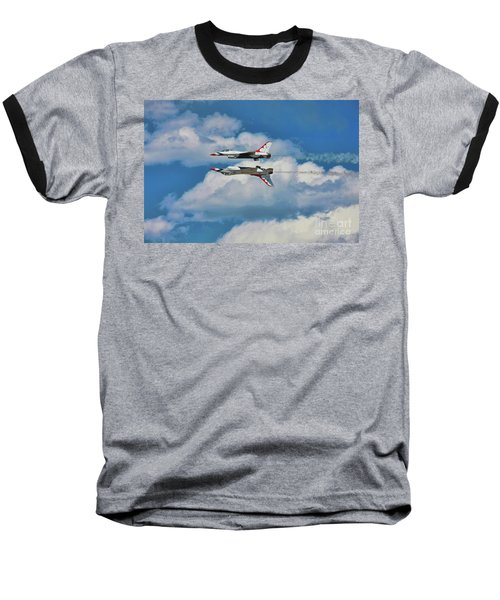 Baseball T-Shirt featuring the photograph Thunderbirds Inverted by Richard Lynch