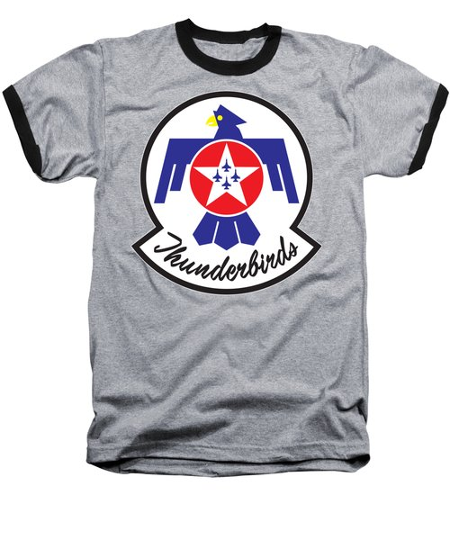 Thunderbirds Logo Baseball T-Shirt