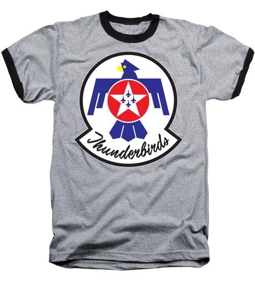Thunderbirds Logo Baseball T-Shirt