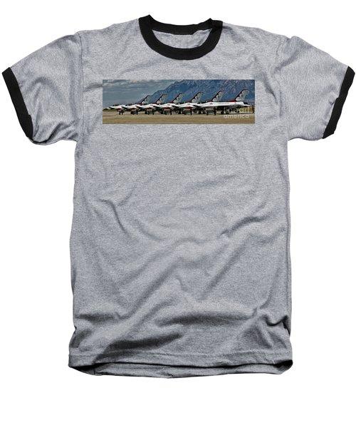 Baseball T-Shirt featuring the photograph Thunderbirds Ready by Richard Lynch