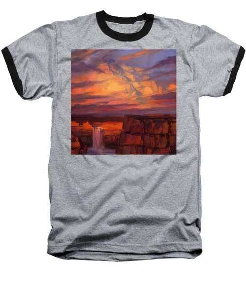 Thundercloud Over The Palouse Baseball T-Shirt