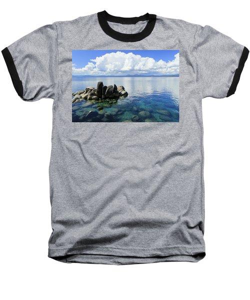Thunderclouds Baseball T-Shirt