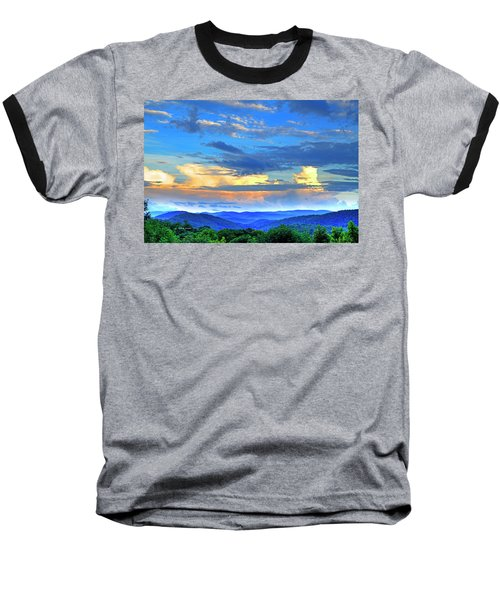 Thunderheads Baseball T-Shirt by Dale R Carlson