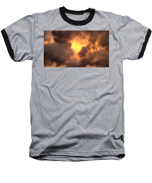 Thunderous Sunset Baseball T-Shirt