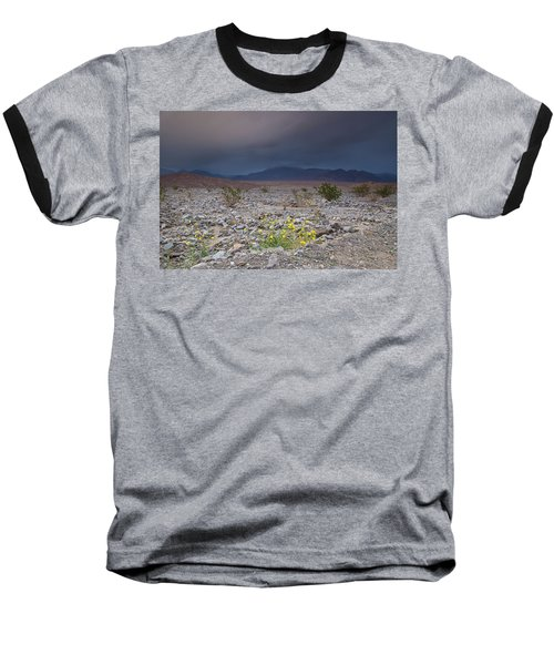 Thunderstorm Over Death Valley National Park Baseball T-Shirt