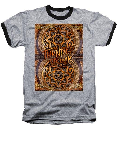Thunderstruck Palais Garnier Opera Mosaic Floor Paris France Baseball T-Shirt