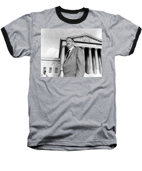 Thurgood Marshall Baseball T-Shirt