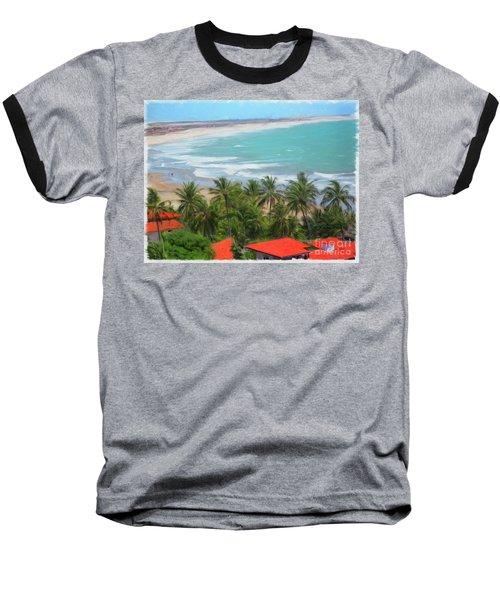 Tiabia, Brazil Beach Baseball T-Shirt