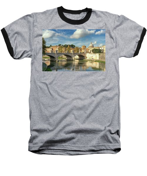 Tiber View Baseball T-Shirt