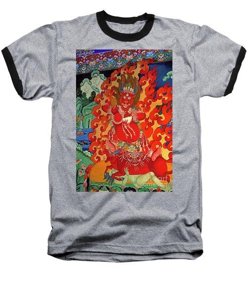 Tibet_190-12 Baseball T-Shirt