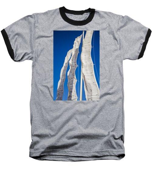 Tibetan Prayer Flags Baseball T-Shirt