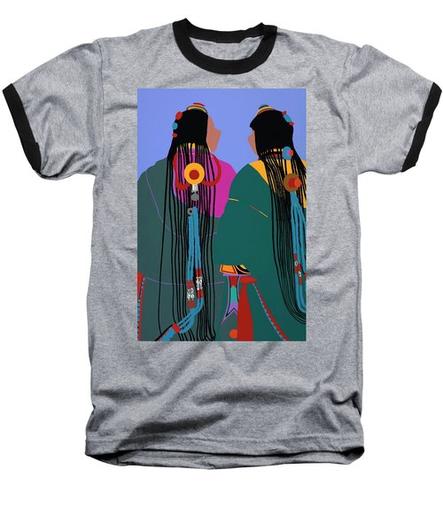 Tibetan Women Baseball T-Shirt