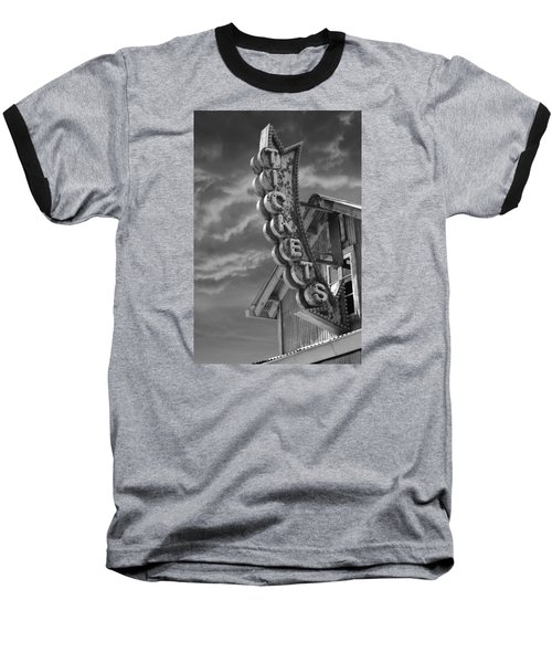 Baseball T-Shirt featuring the photograph Tickets Bw by Laura Fasulo