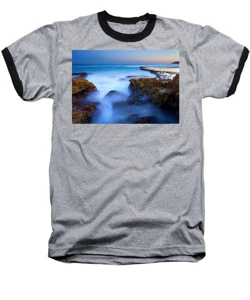 Tidal Bowl Boil Baseball T-Shirt by Mike  Dawson