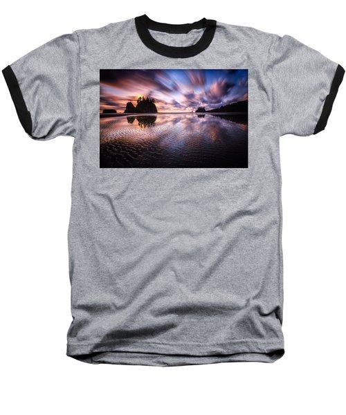 Tidal Reflection Serenity Baseball T-Shirt