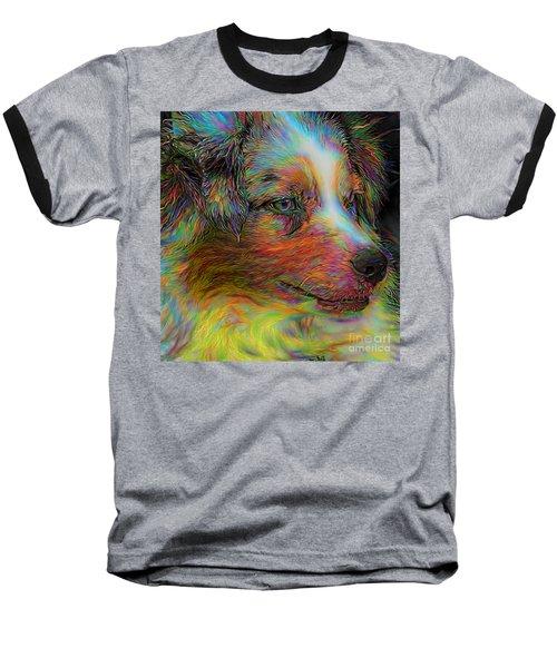 Tie Dyed Joker Baseball T-Shirt