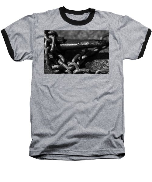 Baseball T-Shirt featuring the photograph Tied Down by Jason Moynihan