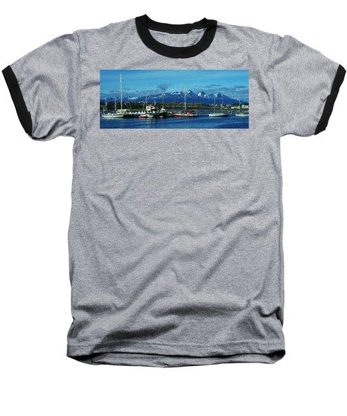 Tierra Del Fuego Baseball T-Shirt by Juergen Weiss
