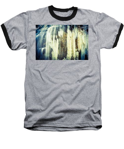 Water And Ice Baseball T-Shirt