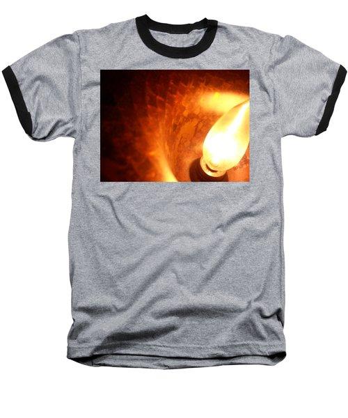 Baseball T-Shirt featuring the photograph Tiffany Lamp Inside by Robert Knight