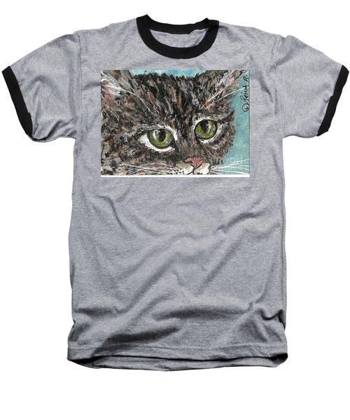 Tiger Cat Baseball T-Shirt