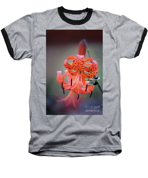 Tiger Lily 2 Baseball T-Shirt