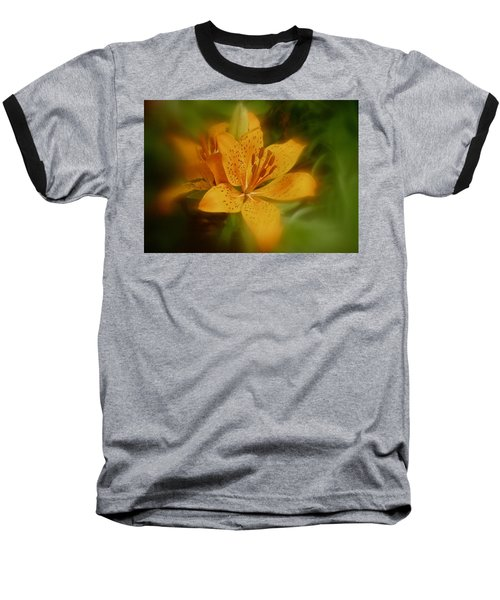 Baseball T-Shirt featuring the photograph Tiger Lily No. 1 by Richard Cummings