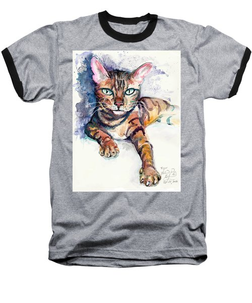 Tiger Baseball T-Shirt by Melinda Dare Benfield